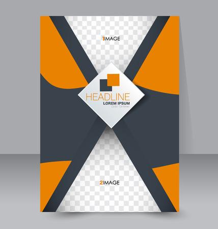 Business brochure template.