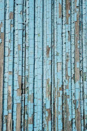 Crackled paint on old wood planks . Photo background Stok Fotoğraf
