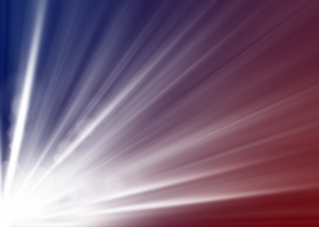 Abstract background with blurred magic  light rays photo