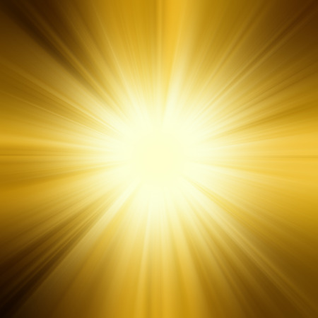 are gold: sun,orange yellow and rays background
