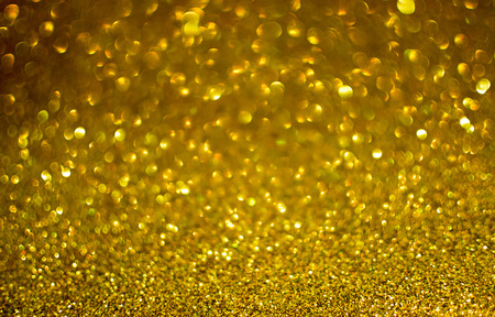 glittery: Glittery gold Christmas background