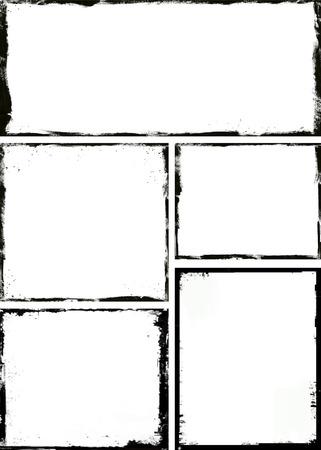 Grunge marco Foto de archivo