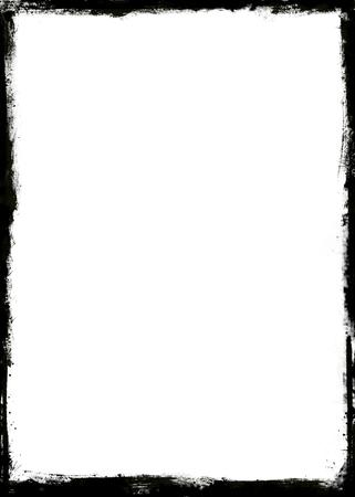 old picture: Grunge frame