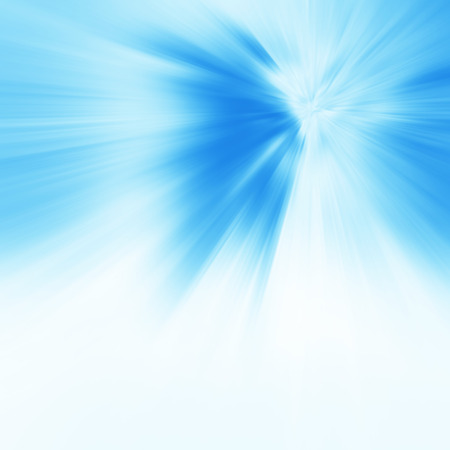Abstract sunlight background. Blue burst Stock Photo