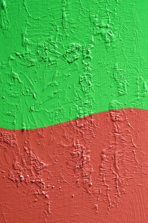 Green and red wall Stok Fotoğraf