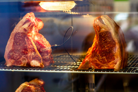 The beef lies in digital camera for dry aging.