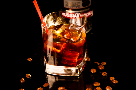 Black Russian cocktail is One of the official cocktails of the international bartending Association (IBA),