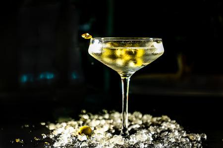 Cocktail wodka Martini vermout