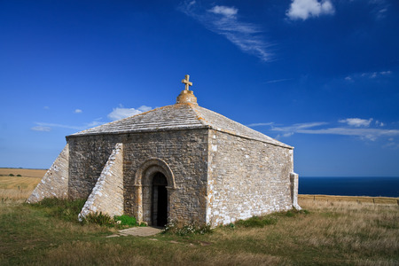 dorset: Chapel of St Aldhelm in Dorset, UK  Stock Photo