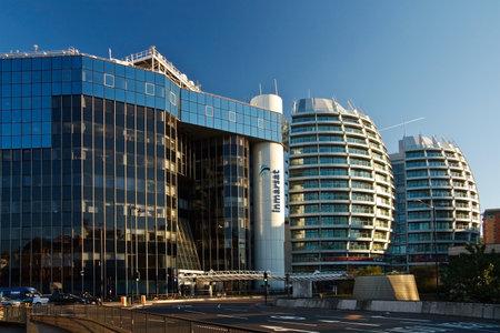 Headquarters of Inmarsat global in London