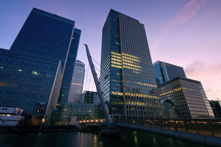 canary wharf: Canary Wharf, London  Stock Photo