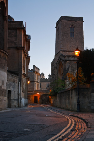 oxfordshire: City of Oxford early in the morning