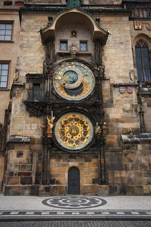 Astronomical clock in Prague, Czech Republic  Reklamní fotografie