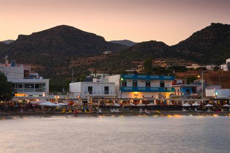 makri: Beach in Makri Gialos village in southern Crete, Greece. Editorial