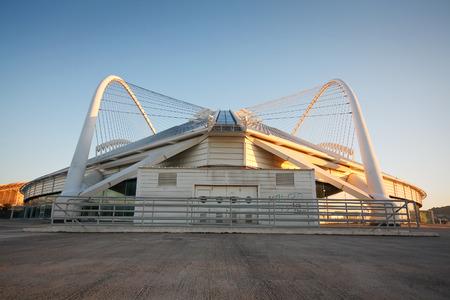velodrome: The Olympic Velodrome stadium in Athens.