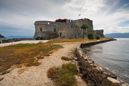 bourtzi: Bourtzi castle in Argolikos Bay, Peloponnese, Greece. Editorial