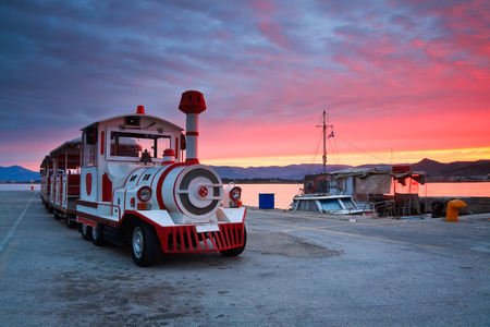 nafplio: Morning in Nafplio harbour, Greece.