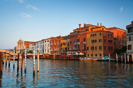 grand canal: Grand Canal in Venice, Italy. Editorial