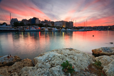zea: Boats in Zea , Piraeus, Athens.