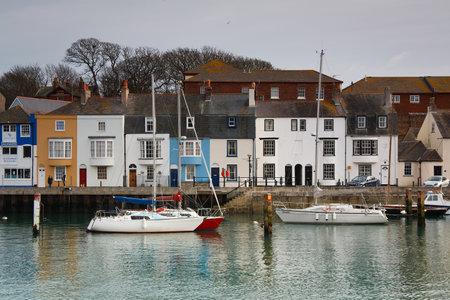 dorset: Harbour in Weymouth, Dorset, UK.