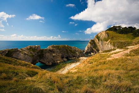 jurassic coast: Jurassic Coast near Lulworth in Dorset, UK.