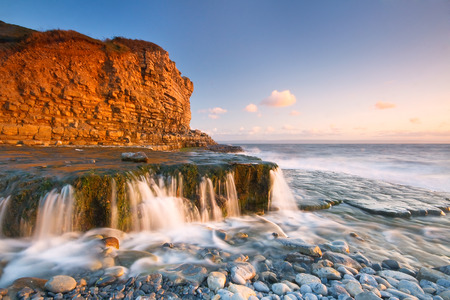Monknash beach in Glamorgan, Wales, UK.