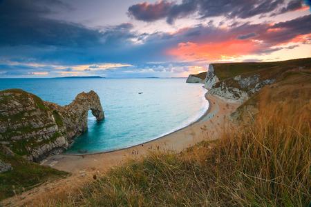 jurassic coast: Durdle Door on Jurassic coast in Dorset, UK.