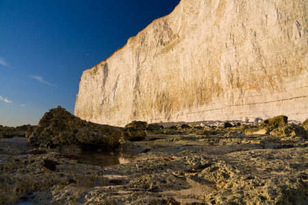 seven sisters: Seven Sisters cliffs in East Sussex, UK.