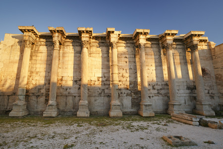 remains: Remains of the Hadrian\ Stock Photo