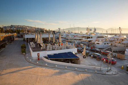 zea: Yachts in Zea Marina in Athens, Greece
