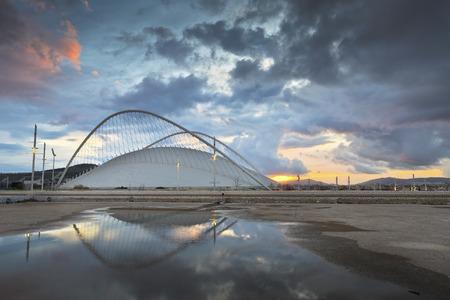 velodrome: The Olympic Velodrome stadium in Athens Editorial