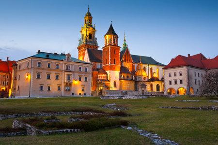 wawel: Royal castle Wawel in city of Krakow, Poland. Editorial