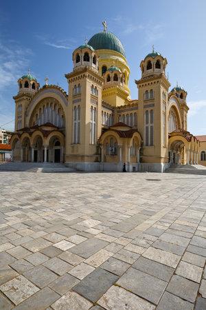 andrew: Basilica of Saint Andrew of Patras Greece