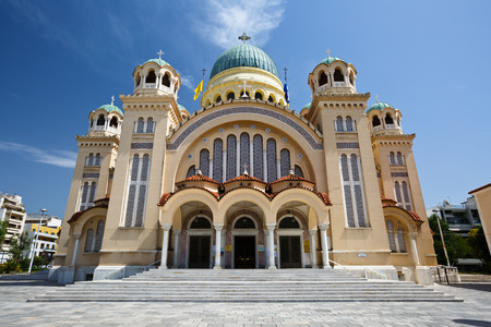 andrew: Basilica Saint Andrew of Patras is the largest church in Greece and a place of pilgrimage for christians from all over the World