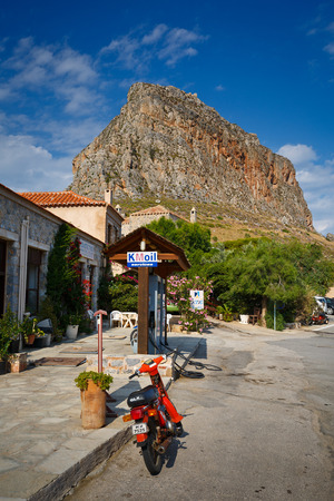laconia: Monemvasia island in Peloponnese, Greece