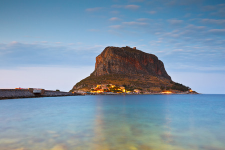 laconia: Monemvasia island off the coast of Peloponnese in Greece.
