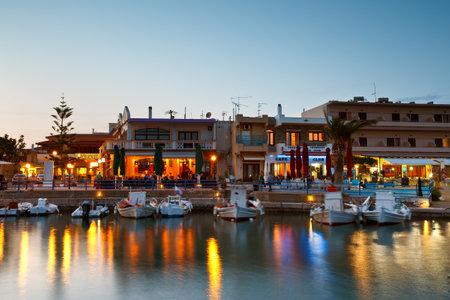 laconia: Harbour in the new Monemvasia village in Peloponnese