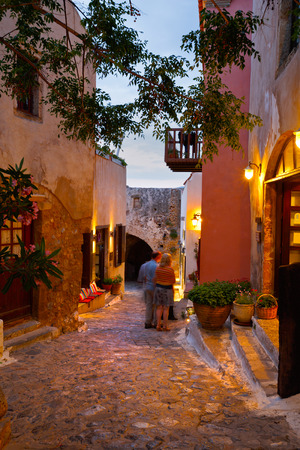 laconia: Monemvasia village in Peloponnese, Greece
