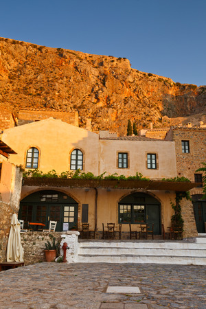 laconia: Monemvasia island in Peloponnese, Greece.