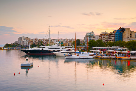 zea: Boats in Zea Marina in Athens, Greece