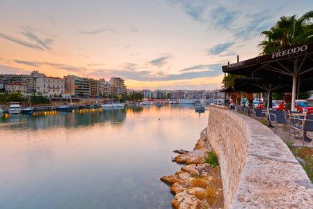 zea: View of Zea Marina in Athens, Greece