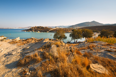 cycladic: Landscape near Paros Park in the northern part of Paros island, Greece.