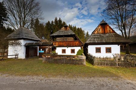 slovak: Slovak traditional architecture in Martin, Slovakia.