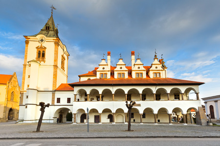 old town hall: Old town hall in the main square of  medieval town of Levoca in eastern Slovakia.