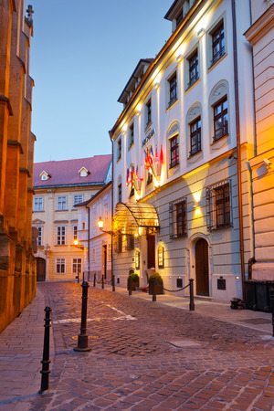 and arcadia: Hotel Arcadia in the old town of Bratislava.