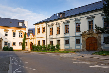olomouc: Architecture in the old town of Olomouc, Czech Republic.