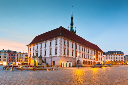 old town townhall: Town hall in the main square of the old town of Olomouc, Czech Republic. Editorial