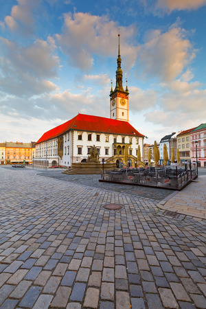 olomouc: Town hall in the main square of the old town of Olomouc, Czech Republic. Editorial