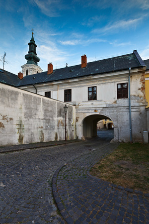old town: Architecture of the old town of Nitra.