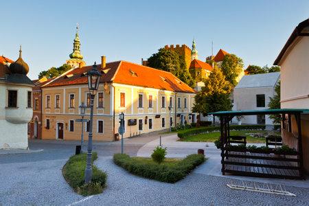moravia: Historic old town of Mikulov in Moravia, Czech Republic.